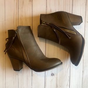 Dirty Laundry Tassle Booties